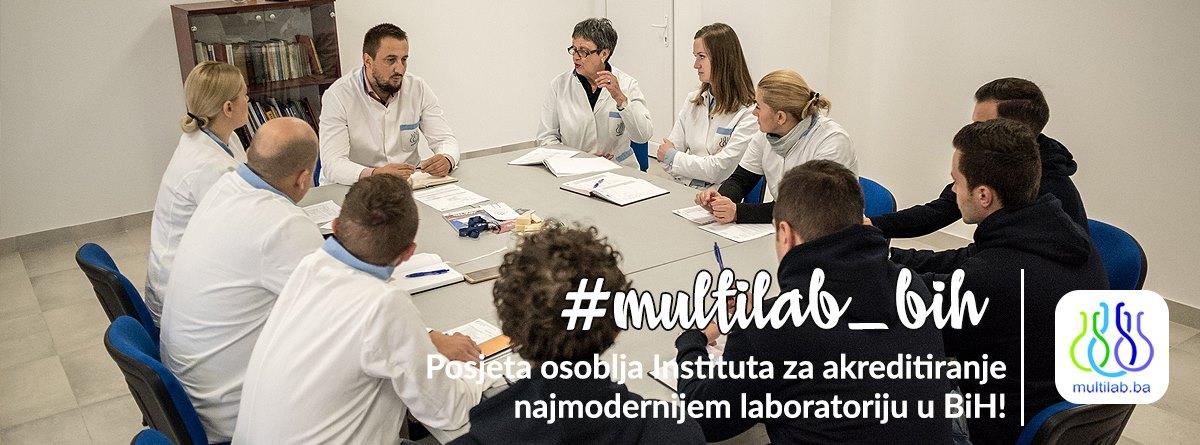 Posjeta osoblja Instituta za akreditiranje najmodernijem laboratoriju u BiH!